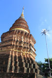 Lanna temple Royalty Free Stock Photography