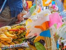 Lanna Thai tradition. Stock Photo