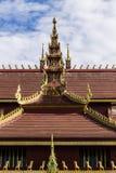 Lanna Ubosoth in Chiangmai Royalty Free Stock Photos
