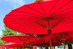 Lanna umbrella Royalty Free Stock Image