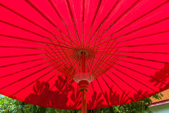 Lanna umbrella Stock Photography
