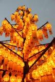 Lannalamp voor decoratie in het noorden van Thailan algemeen wordt gebruikt die Royalty-vrije Stock Foto