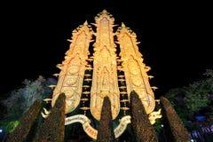Lannastijl Tung Luang achter Koning Meng Rai Monument, Chiang Rai, Thailand royalty-vrije stock fotografie
