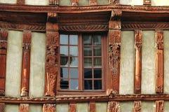 Lannion (Бретань): ² haà f-timbered дом стоковые изображения