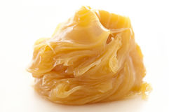 Lanolin. Pur  on the white background Royalty Free Stock Image