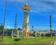 Clock tower Thailand stock photography