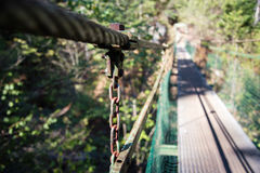 Lanova Lavka bridge at Slovensky Raj Stock Photography
