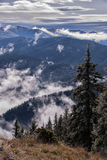 Lanscape гор Стоковое Фото