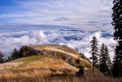 Lanscape гор Стоковое Изображение