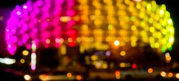 Lanscape ночи, свет Стоковое Изображение RF