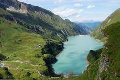 Lanscape austríaco de las montan@as - Kaprun en Austria Fotografía de archivo