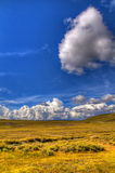Lanscape by Bodie Ghost Town Royalty Free Stock Photos