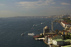 Lanscape from Bosphorus Bridge,Istanbul,Turkey,10/2010 Stock Image
