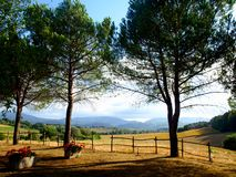 Lanscape in countryside Royalty Free Stock Image