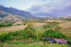 Lanscape de colline de dessus de Wonderfull en Thaïlande Photo stock