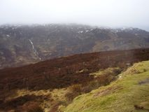 Lanscape de Escocia en la montaña escocesa 2 Imagen de archivo