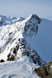 Lanscape de las montan@as del invierno Fotografía de archivo libre de regalías