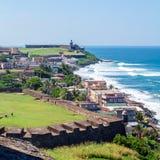 Lanscape de San Juan Puerto Rico Image libre de droits