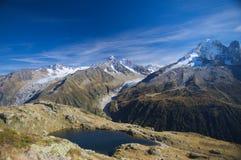 Lanscape dell'alta montagna di estate Fotografia Stock Libera da Diritti