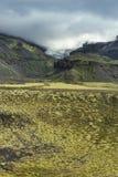 Lanscape dell'Islanda del sud, NP Vatnajokull Fotografia Stock Libera da Diritti