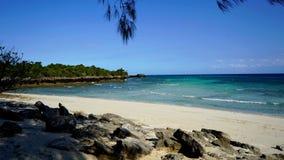 Lanscape dell'isola di Chumbe fotografia stock