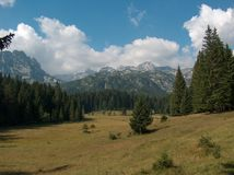 Lanscape della montagna Fotografia Stock