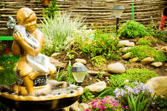 Lanscape design of home garden