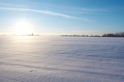 Lanscape di inverno Fotografie Stock