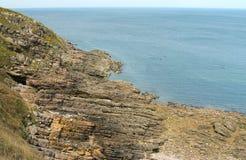 Lanscape em Brittany, France Foto de Stock Royalty Free