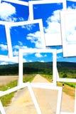 Lanscape in foto di istante della montagna fotografia stock libera da diritti