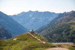 Lanscape of Gran Paradiso royalty free stock image