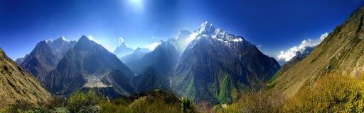 Lanscape hermoso de la montaña Fotografía de archivo