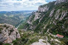 Lanscape in Montserrat Stock Image