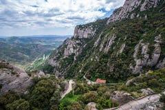 Lanscape in Montserrat Stock Images