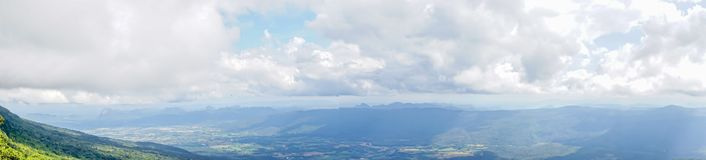Lanscape mountain with cloud Royalty Free Stock Photography