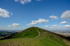 Lanscape nuageux BRITANNIQUE Images stock