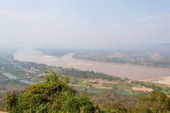 Lanscape o do Mekong River Imagem de Stock Royalty Free
