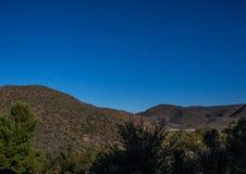 Lanscape Południowy przylądek Południowa Afryka Fotografia Stock