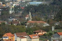 Lanscape in Pontevedra royalty free stock images