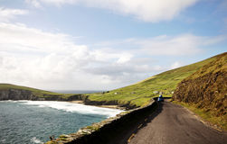 Lanscape from Slea Head Drive, Ireland Royalty Free Stock Image