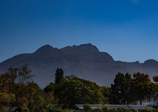 Lanscape of the Southern Cape of South Africa Stock Photo
