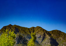 Lanscape of the Southern Cape of South Africa Stock Images