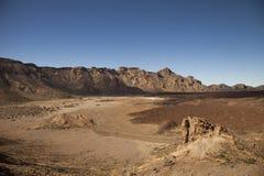 Lanscape in Tenerife Royalty-vrije Stock Foto's