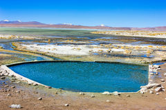 Lanscape when traveling in Laguna Verde ,Bolivia Royalty Free Stock Photos