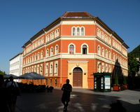 Lanscape urbano in Brasov, Transilvania Immagine Stock Libera da Diritti