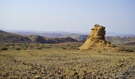 Lansdcape estéril de Kaokoland Imagen de archivo libre de regalías
