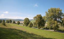 Lansdcape from north Slovakia Royalty Free Stock Photo