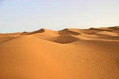 lansdscape撒哈拉大沙漠 免版税图库摄影