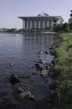 Lansdscape da mesquita de Putrajaya Fotografia de Stock