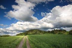 Lansdscape rural photographie stock libre de droits